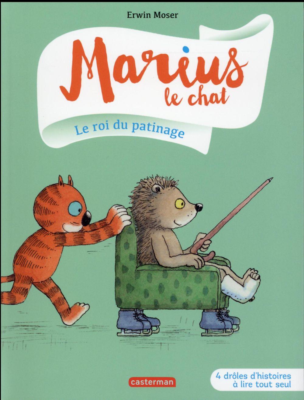 Marius le chat T.3 ; le roi du patinage