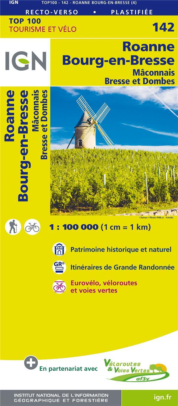 TOP100142 ; Roanne, Bourg-en-Bresse