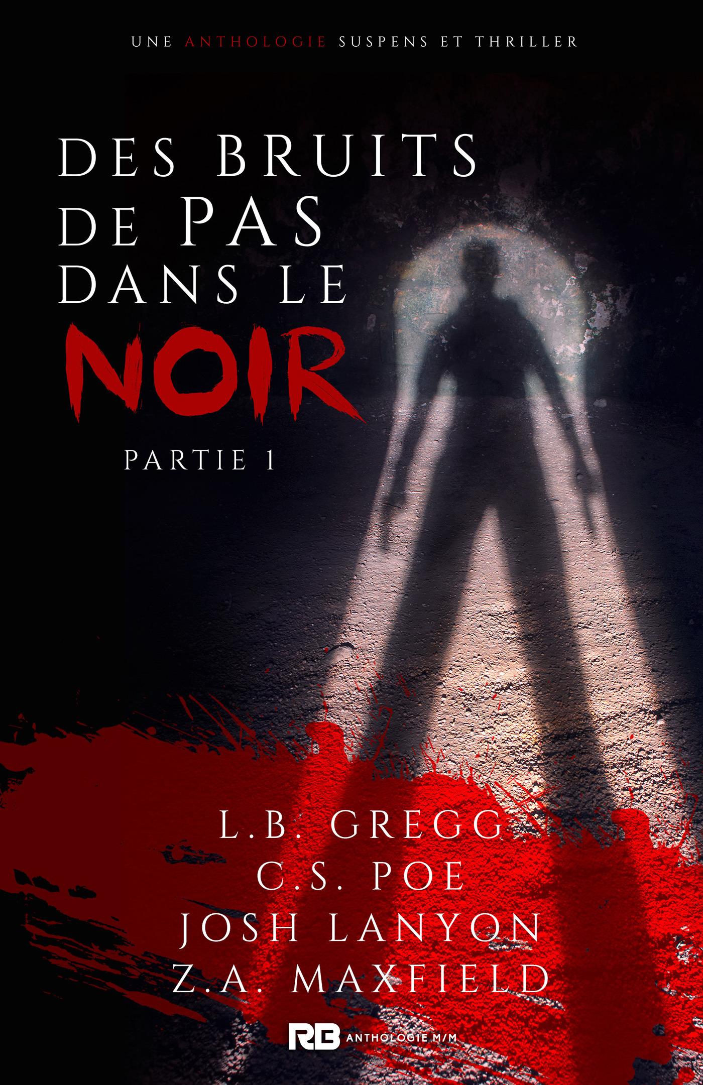 Des bruits de pas dans le noir  - Josh Lanyon  - Z. A. Maxfield  - C. S. Poe  - Cs Poe  - L. B. Greeg