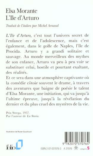 L'ile d'Arturo ; mémoires d'un adolescent