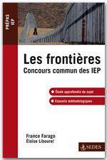 Vente Livre Numérique : Les frontières  - France Farago - Eloïse Libourel