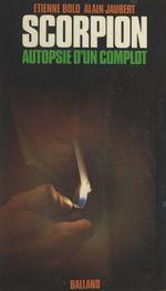 Vente EBooks : Scorpion  - Alain Jaubert - Étienne Bolo