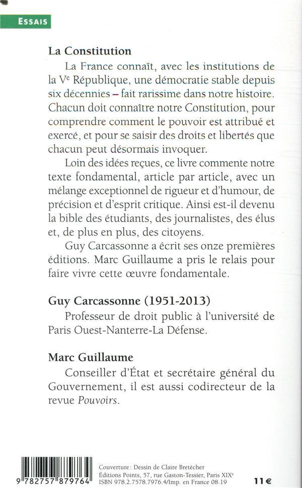 La constitution (15e édition)