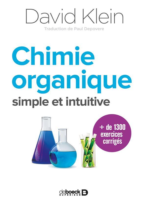 Chimie organique ; simple et intuitive