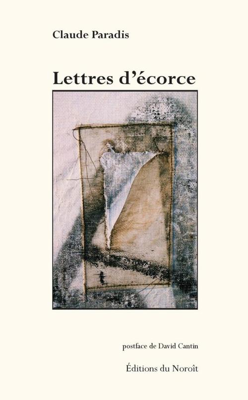 Lettres d'écorce