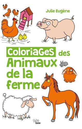 Coloriages des animaux de la ferme