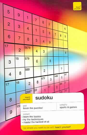 Sudoku ; teach yourself