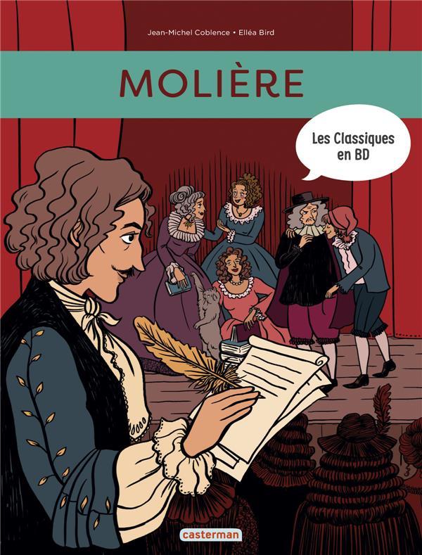 Les classiques en BD T.1 ; Molière