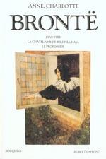 Couverture de Oeuvres completes t.2 ; jane eyre ; la chatelaine de wildfell hall ; le professeur