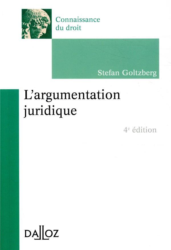 L'argumentation juridique (4e édition)