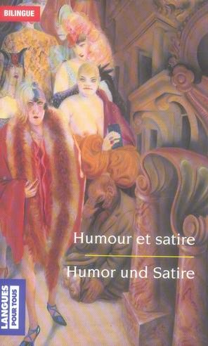 HUMOUR ET SATIRE  HUMOR UND SATIRE - BILINGUE BOELCKE, JURGEN