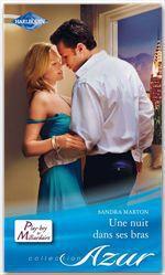 Vente EBooks : Une nuit dans ses bras  - Sandra Marton