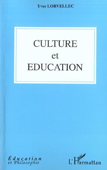 Culture et education