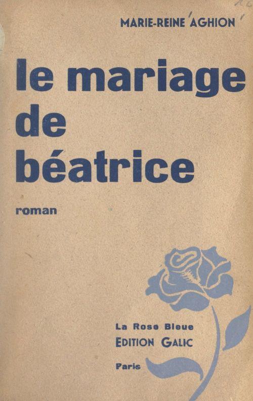 Le mariage de Béatrice