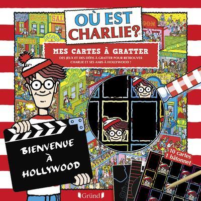 où est Charlie ? ; mes cartes à gratter Hollywood