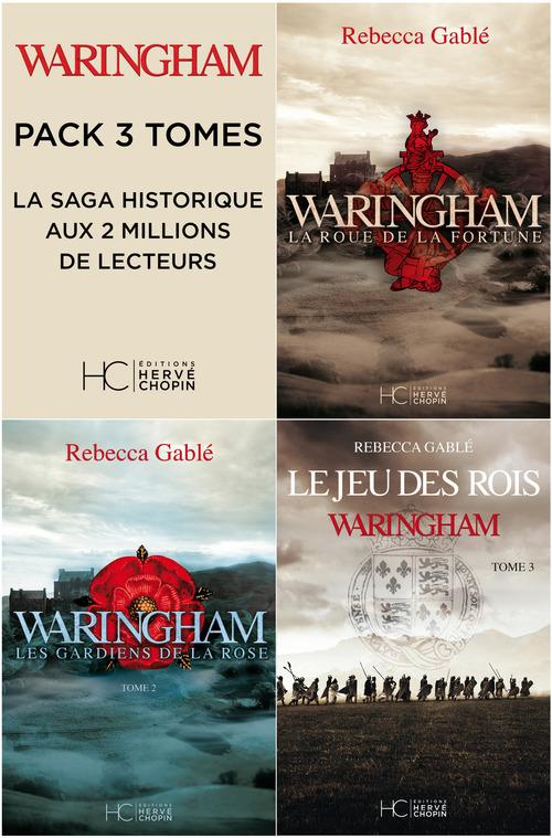 Pack waringham - 3 premiers tomes
