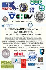 Vente Livre Numérique : DICTIONNAIRE INTERNATIONAL des ABRÉVIATIONS, SIGLES, ACRONYMES et SYNONYMES en MÉDECINE  - Jean-Marie Thiébaud