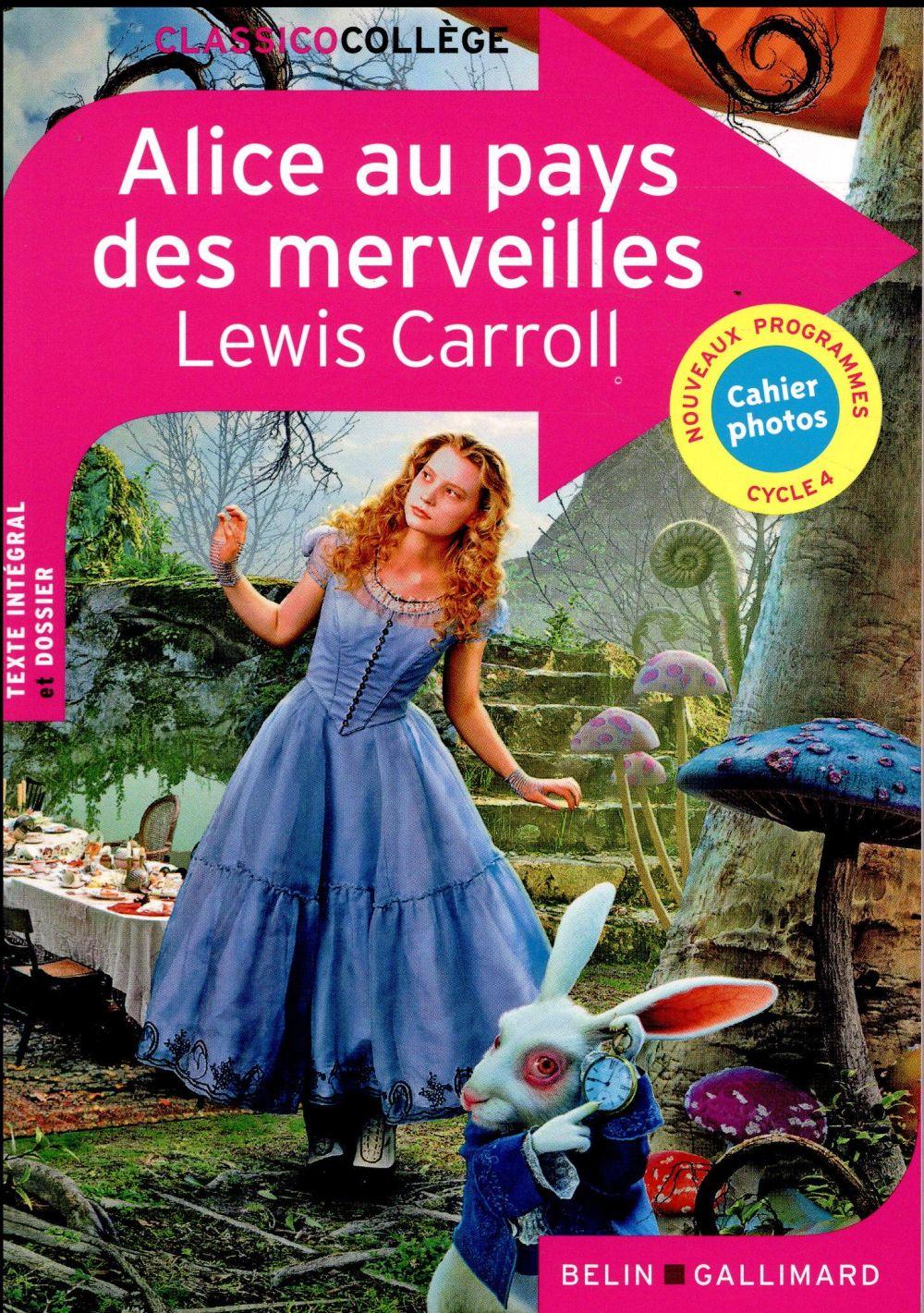 Alice au pays des merveilles, de Lewis Carroll (édition 2017)