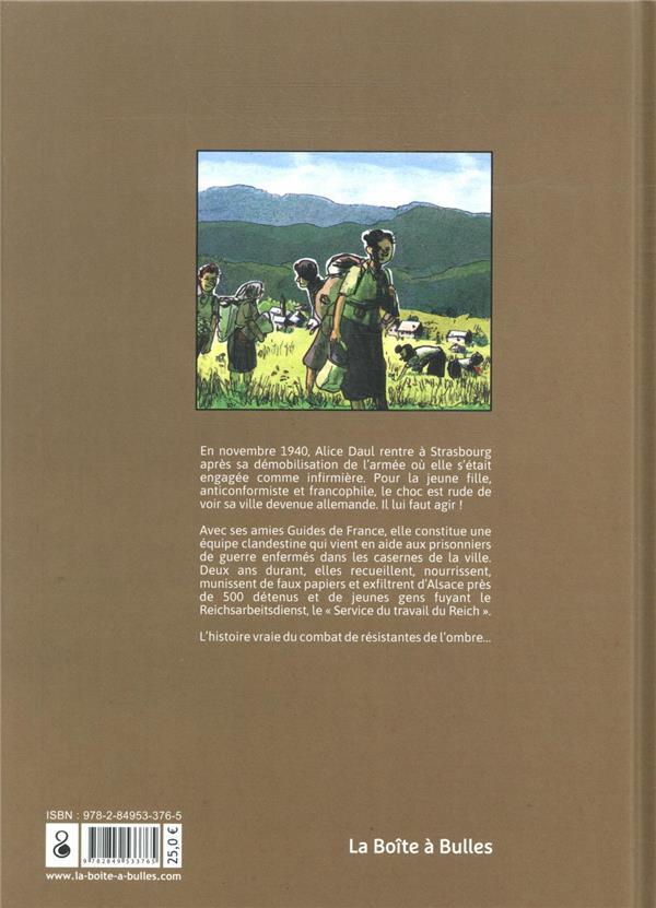 Têtes de mules ; six jeunes Alsaciennes en résistance