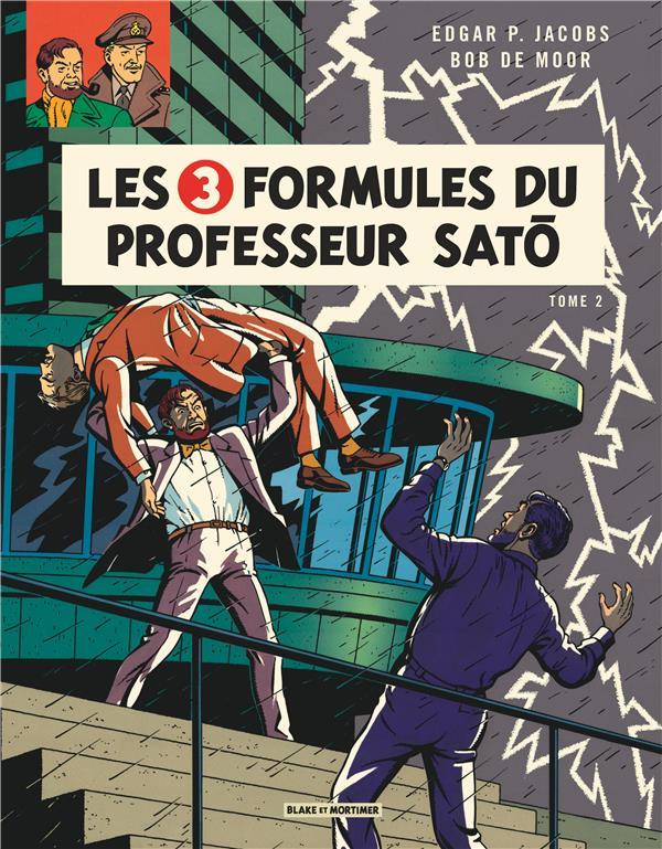 Blake et Mortimer T.12 ; les 3 formules du professeur Satô t.2