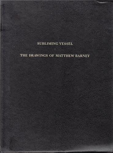 Matthew barney the drawings-exhibition catalog morgan library nyc and bnf paris