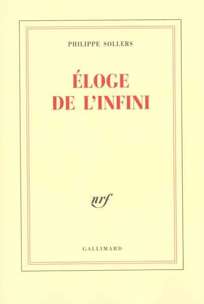 Eloge De L'Infini