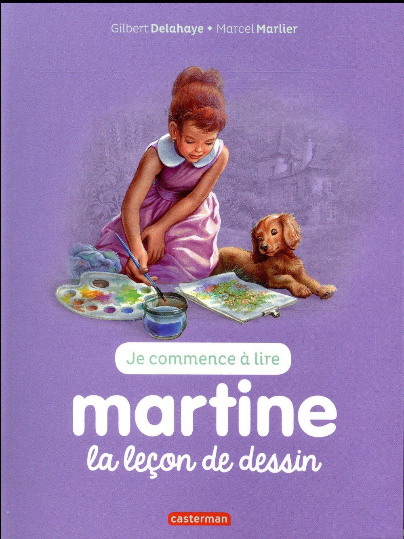 Je commence à lire avec Martine T.30 ; la leçon de dessin