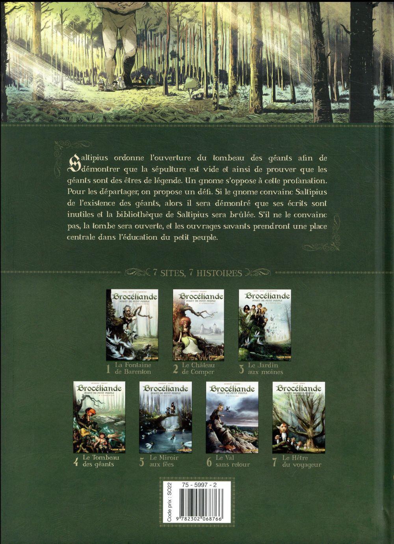 Brocéliande ; forêt du petit peuple t.4 ; le tombeau des géants