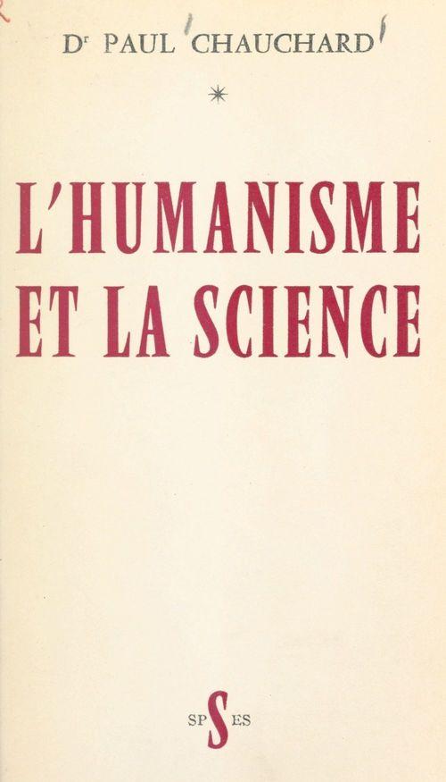 L'humanisme et la science