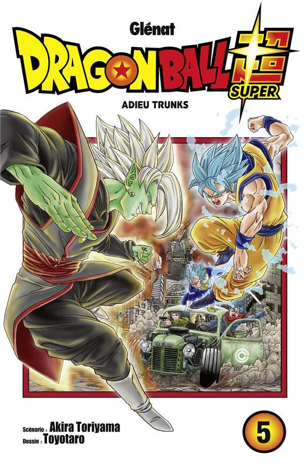 Dragon Ball Super T.5 ; adieu Trunks