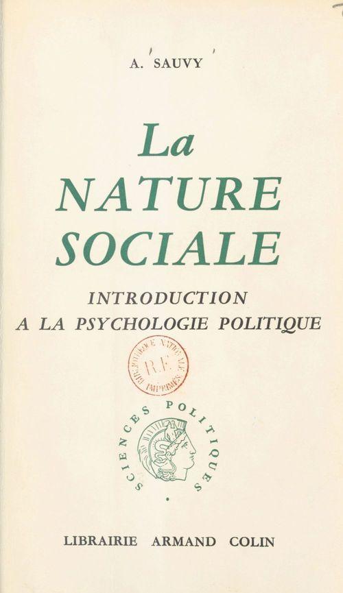 La nature sociale