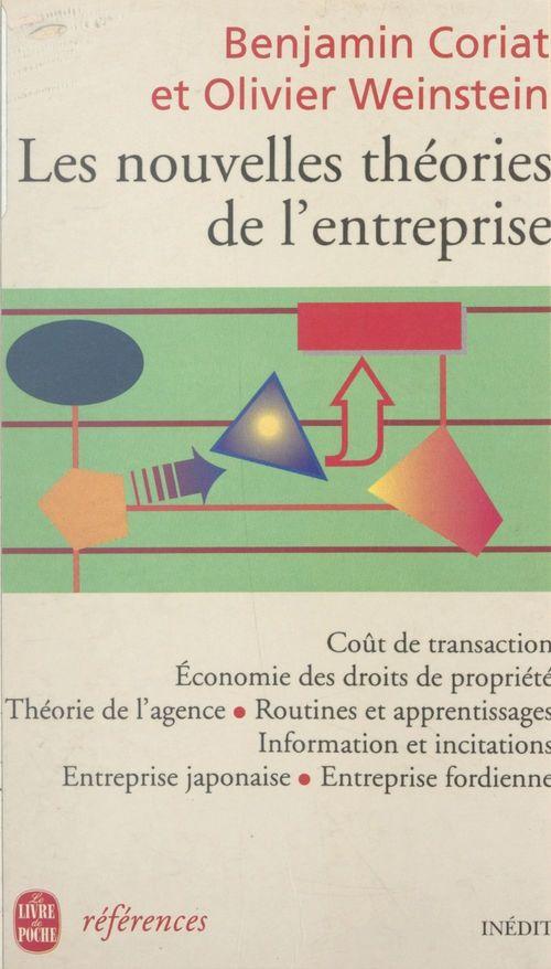 Les nouvelles théories de l'entreprise