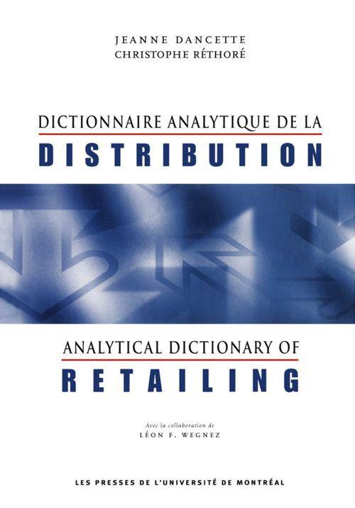 Dictionnaire analytique de la distribution