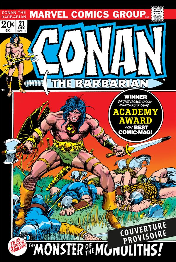Conan le Barbare ; INTEGRALE VOL.3 ; 1972-1973