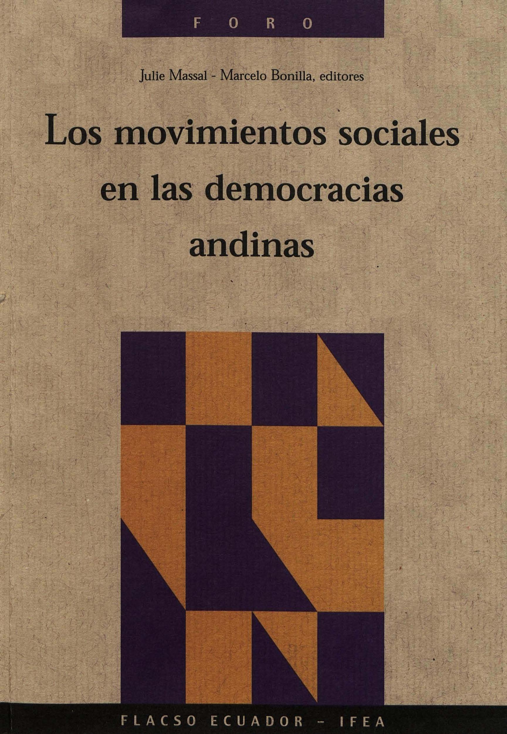 Los movimientos sociales en las democracias andinas
