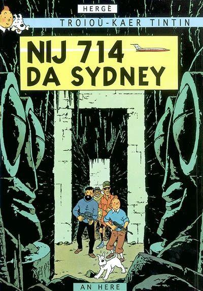 Troioù-kaer Tintin t.22 ; Tintin nij 714 da Sydney