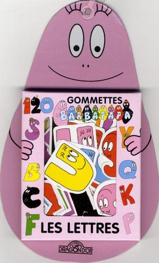 Barbapapa ; Les Lettres ; 80 Gommettes