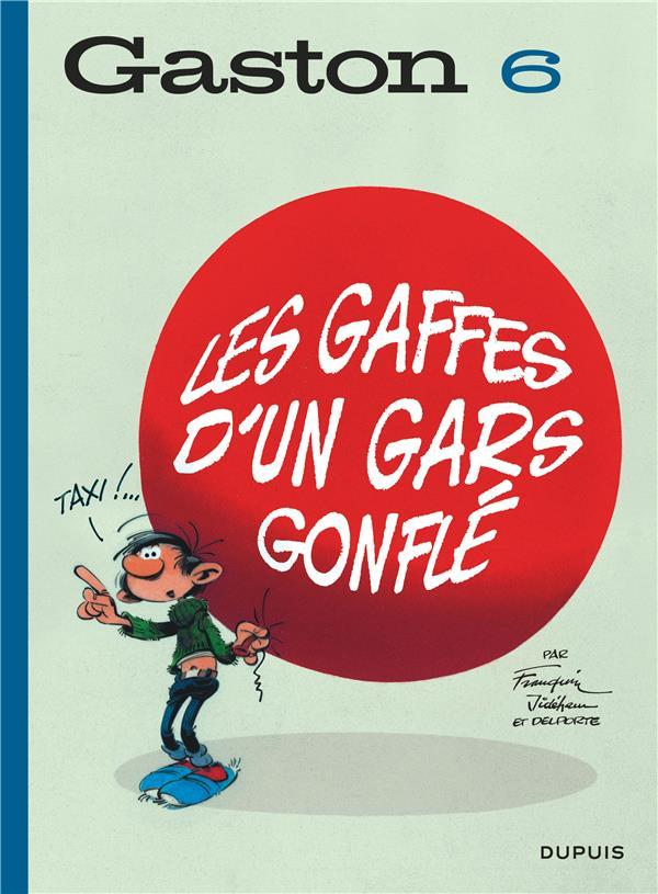 GASTON (EDITION 2018) - TOME 6 - LES GAFFES D'UN GARS GONFLE (EDITION 2018) FRANQUIN