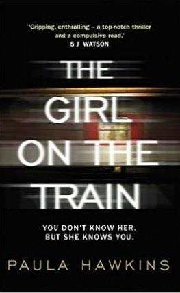 THE GIRL ON THE TRAIN - FILM TIE IN
