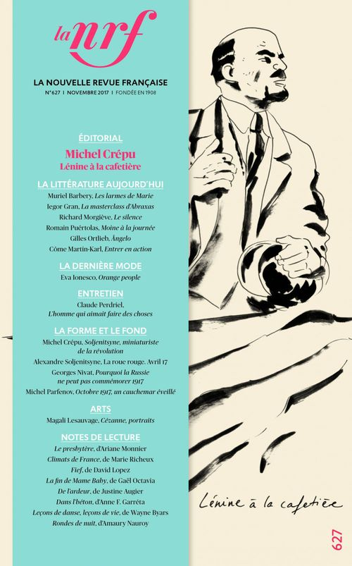 La nouvelle revue francaise N.627