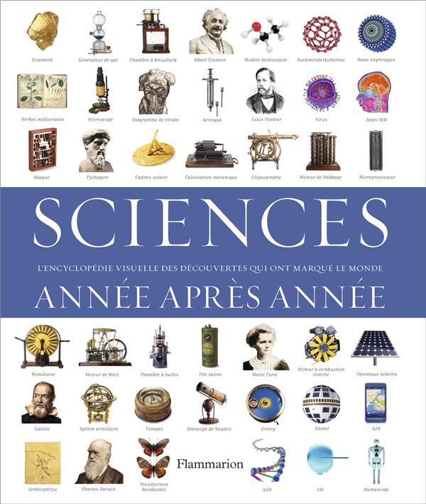 Sciences ; année après année