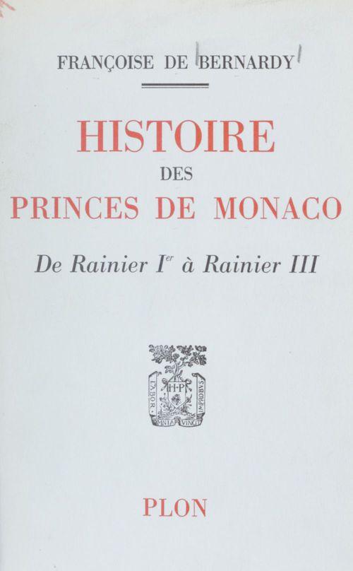 Histoire des princes de Monaco