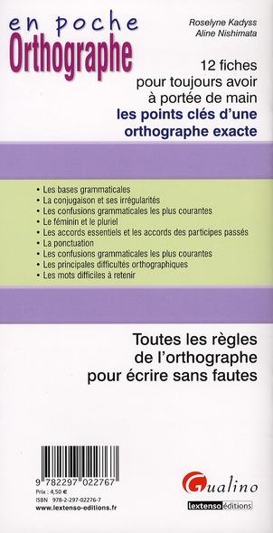 Orthographe (2e édition)