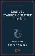 Vente EBooks : Manuel d'arboriculture fruitière