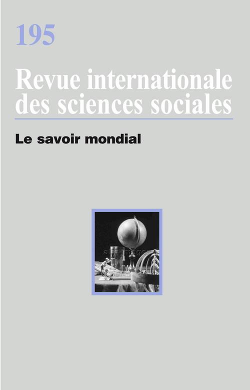 RISS T.195 ; le savoir mondial