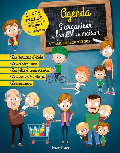 Agenda s'organiser en famille à la maison (édition 2021/2022)