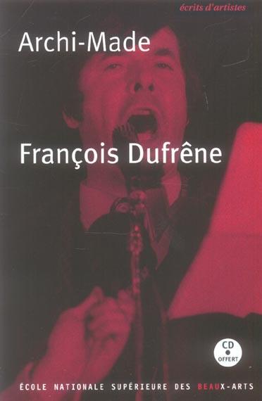 FRANCOIS DUFRENE