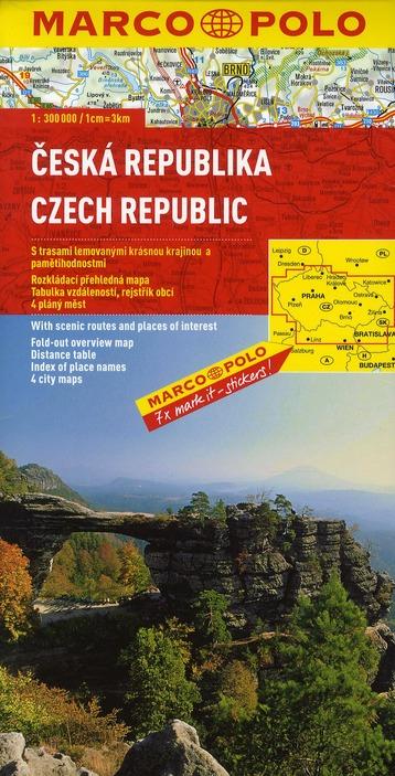République tchèque ; euro carte marco polo
