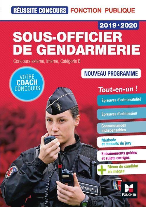 Réussite Concours - Sous-officier de gendarmerie - 2019-2020