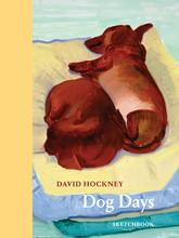 David hockney dog days: sketchbook /anglais